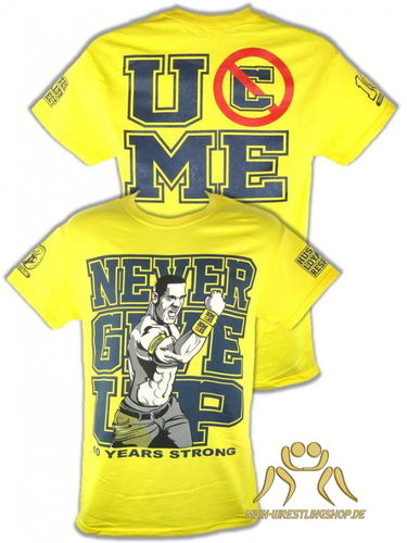 John Cena Gold 10 Years Strong T-Shirt