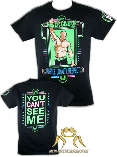 John Cena Neon Authentic T-Shirt