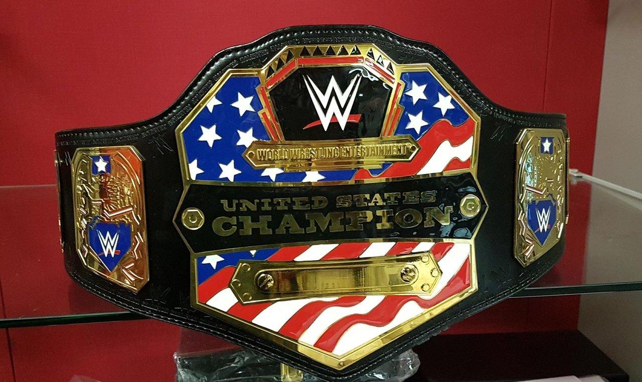 wwe united states championship replica title belt 2014. Black Bedroom Furniture Sets. Home Design Ideas
