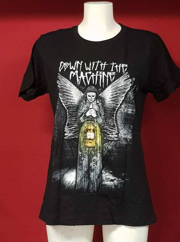 "Wyatt Family ""Down with the Machine"" Frauen Authentic T-Shirt"