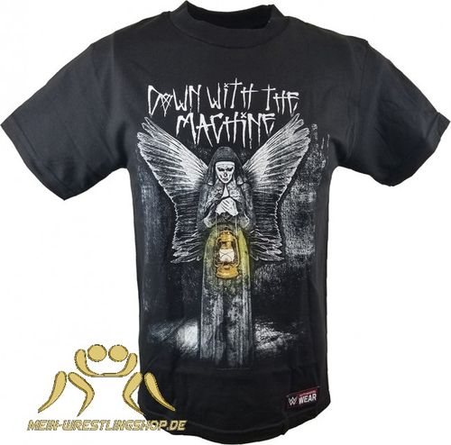 "Wyatt Family ""Down with the Machine"" Authentic T-Shirt"