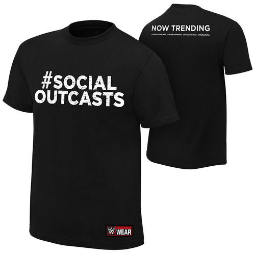 "Social Outcasts ""Now Trending"" Authentic T-Shirt"