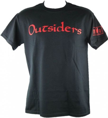 NWO Outsiders Red Logo T-Shirt