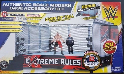WWE Modern-Day Steel Cage Playset (ECW & Extreme Rules)