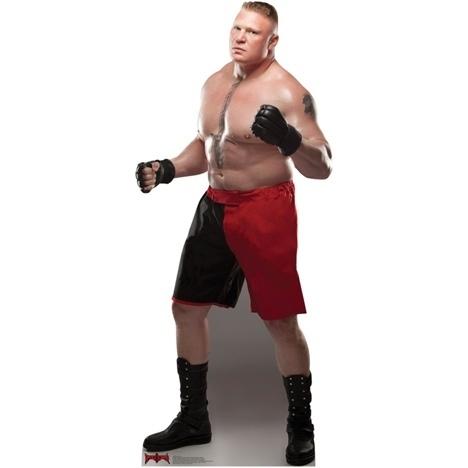 brock lesnar pappaufsteller wrestling fanshop wwe t shirt. Black Bedroom Furniture Sets. Home Design Ideas