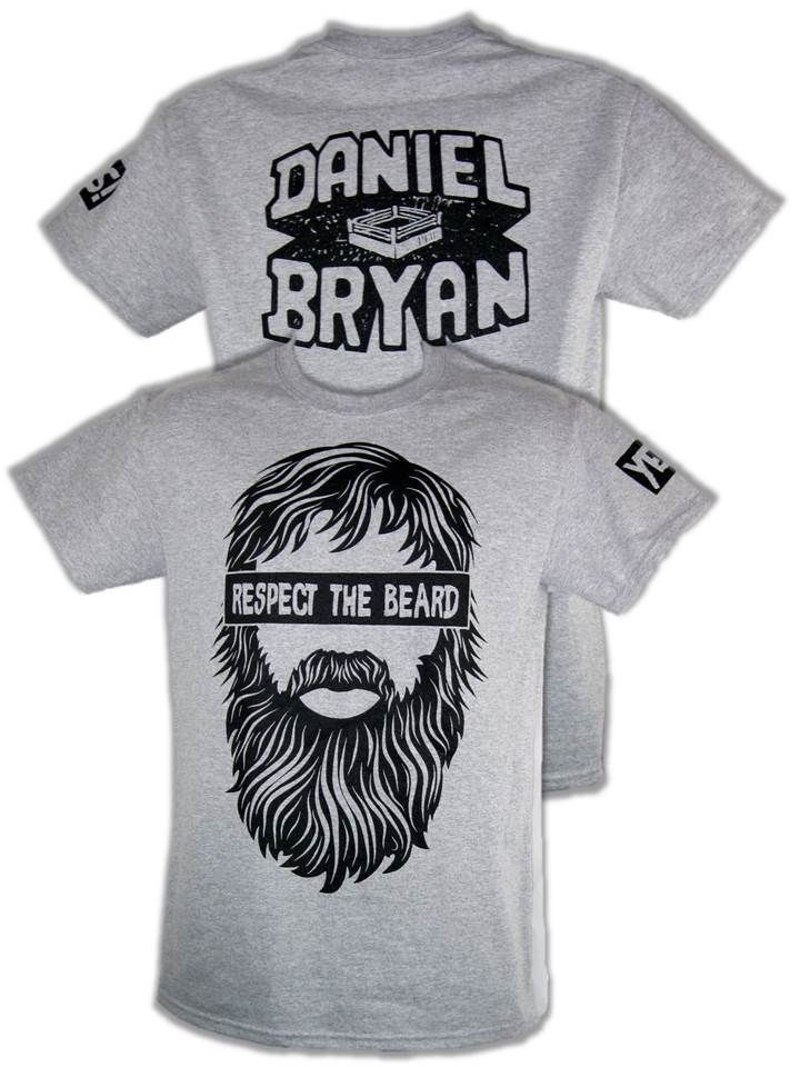 "Daniel Bryan ""Respect The Beard"" T-Shirt"