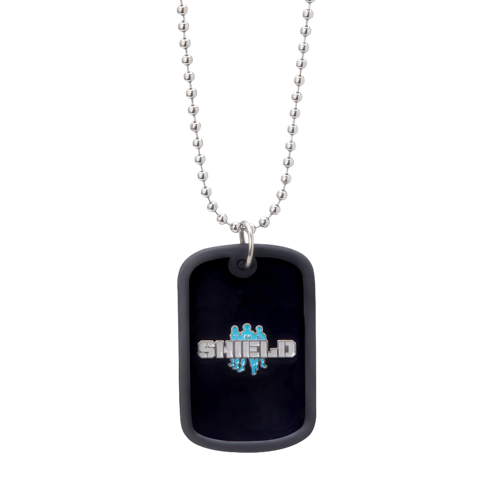 the shield hounds of justice dog tags. Black Bedroom Furniture Sets. Home Design Ideas