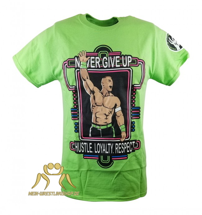 John Cena Neon Green Retro T-Shirt