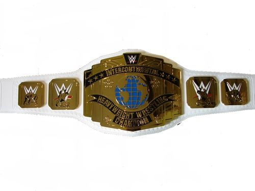 WWE White Intercontinental Championship Replica Title Belt (2014)