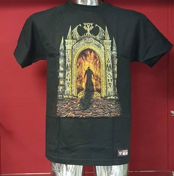 "Undertaker ""Never Summon The Dead"" Authentic T-Shirt"