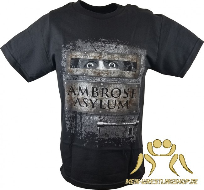 "Dean Ambrose ""Ambrose Asylum"" Authentic T-Shirt"