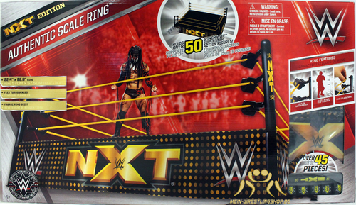 WWE Authentic Scale Wrestling Ring (NXT Version)