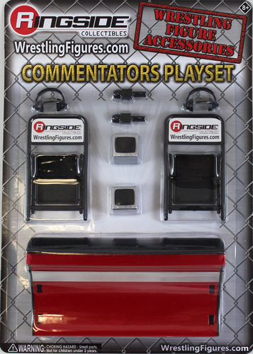 """Commentators Playset (Red)"" -"