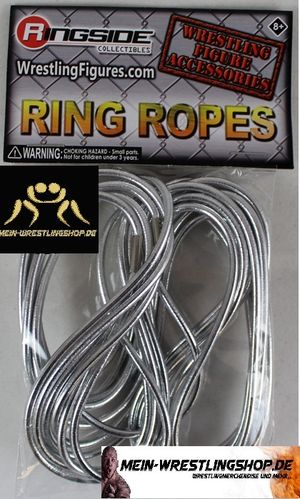 """Ring Ropes Silber"