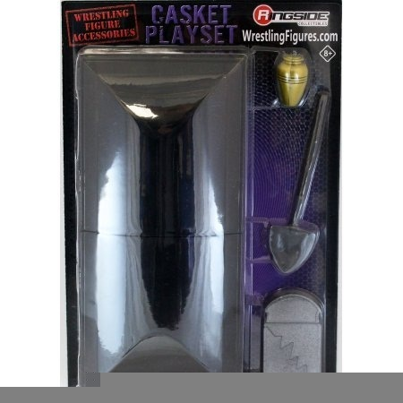 """Casket Playset (Black)"" - Ringside Exclusive"