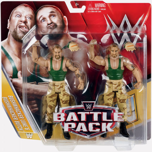 THE BUSHWACKERS - WWE BATTLE PACK SERIES 40