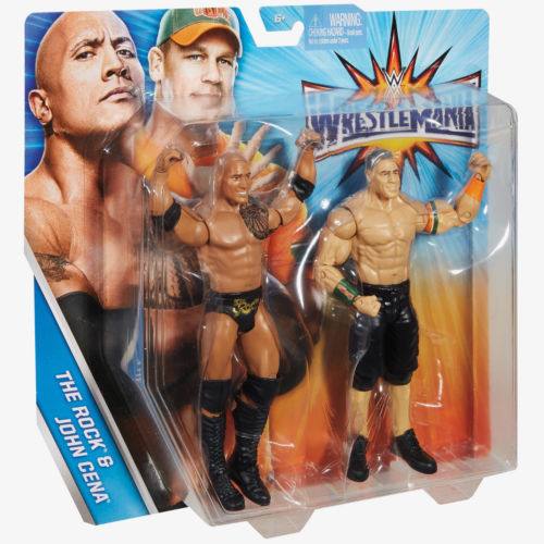 The Rock & John Cena Battle Pack Wrestlemania 33