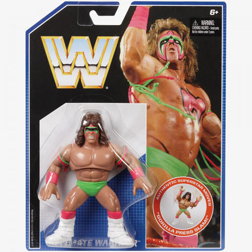 ULTIMATE WARRIOR WWE RETRO SERIES 1