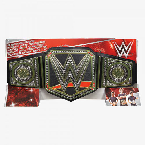 WWE WORLD HEAVYWEIGHT CHAMPIONSHIP TOY BELT