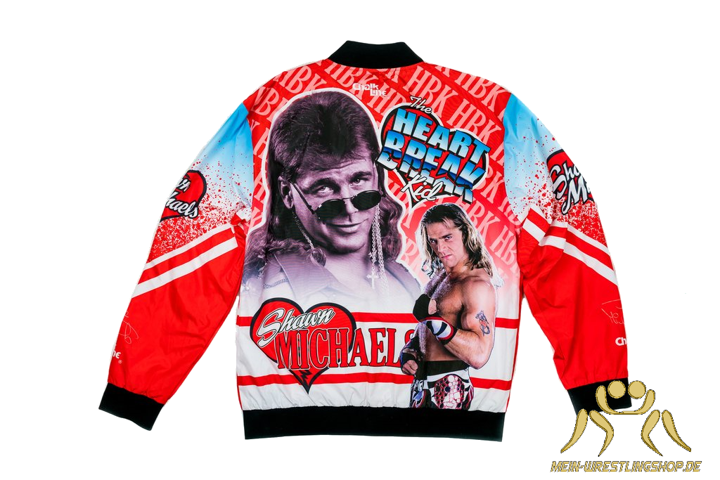 WWE RETRO Shawn Michaels JACKET