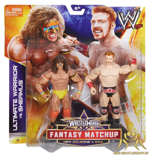 WWE WrestleMania Fantasy Match-Up Sheamus & Ultimate Warrior