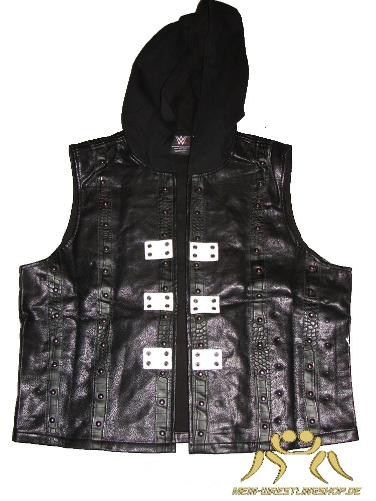"AJ Styles ""P1"" Authentic Hooded Vest"