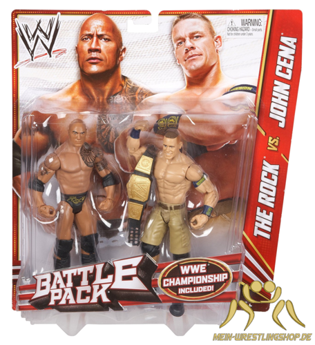 The Rock & John Cena - WWE Battle Packs 24