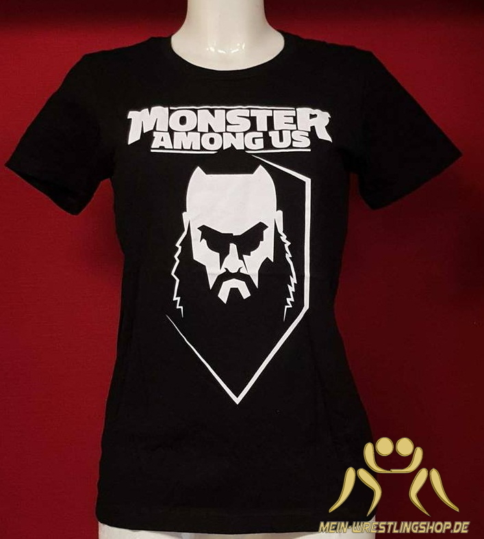 "Braun Strowman ""Monster Among Us"" Frauen Authentic T-Shirt"