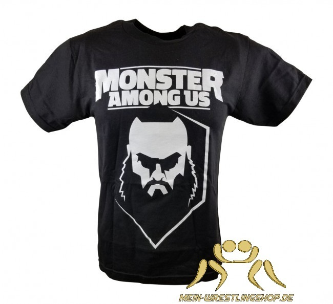 "Braun Strowman ""Monster Among Us"" Kinder Authentic T-Shirt"