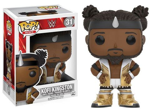 WWE Wrestling POP! WWE Vinyl Figur Kofi Kingston