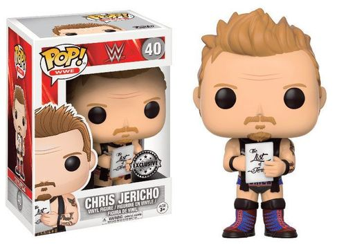 WWE Wrestling POP! WWE Vinyl Figur Chris Jericho