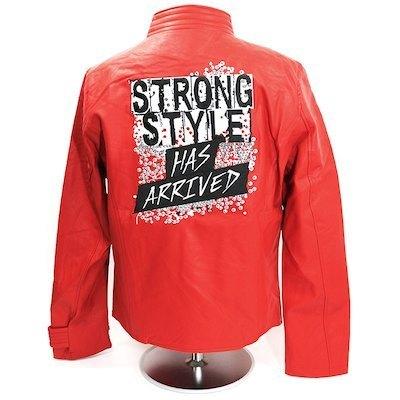 Shinsuke Nakamura Strong Style Has Arrived Replica Jacket Red Large