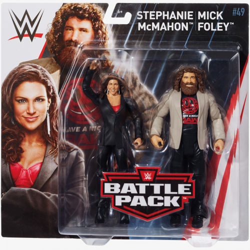 Mick Foley & Stephanie McMahon - WWE Battle Packs 49