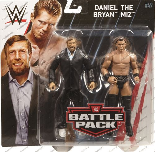 The Miz & Daniel Bryan - WWE Battle Packs 49