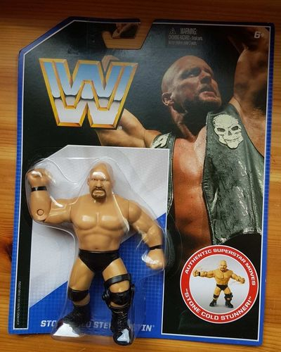 Steve Austin WWE RETRO SERIES 2