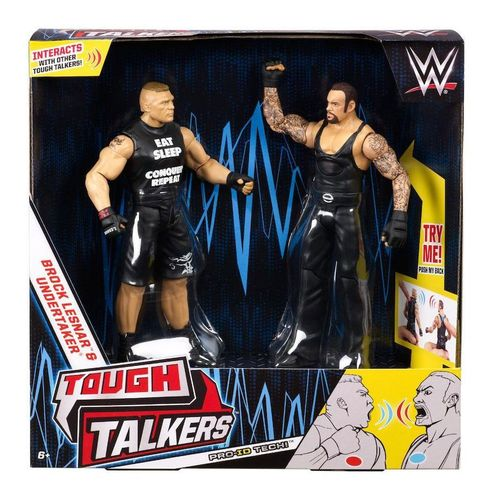 WWE Tough Talkers Action Figuren - Brock Lesnar & Undertaker