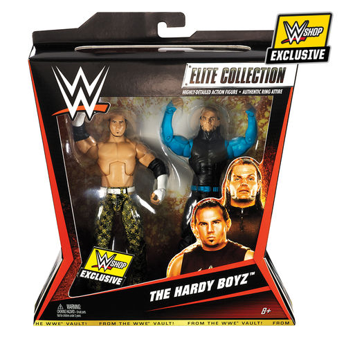 The Hardy Boyz Mattel Action Figure 2-Pack Elite Collection