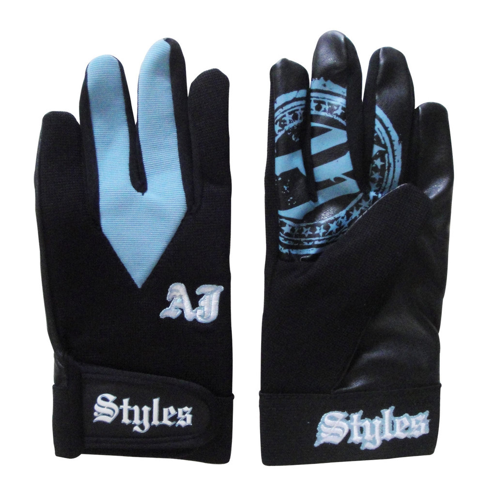 AJ Styles Carolina Blue Replica Gloves