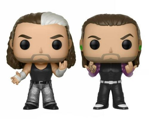 WWE POP! Vinyl Figuren Doppelpack The Hardy Boyz 9 cm