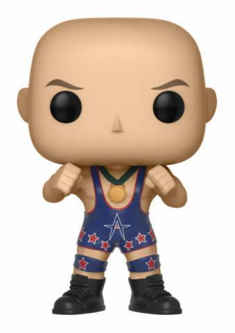 WWE POP! Vinyl Figur Kurt Angle (Ring Gear) 9 cm