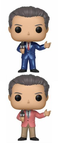 WWE POP! Vinyl Figuren Vince McMahon (In Suit) 9 cm Doppelpack