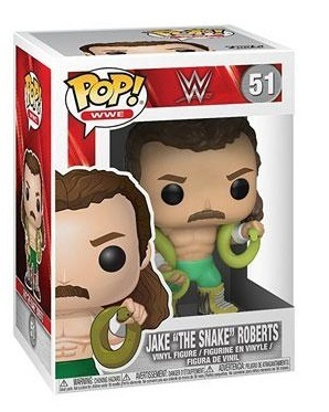 WWE POP! Vinyl Figuren Jake the Snake 9 cm Classic