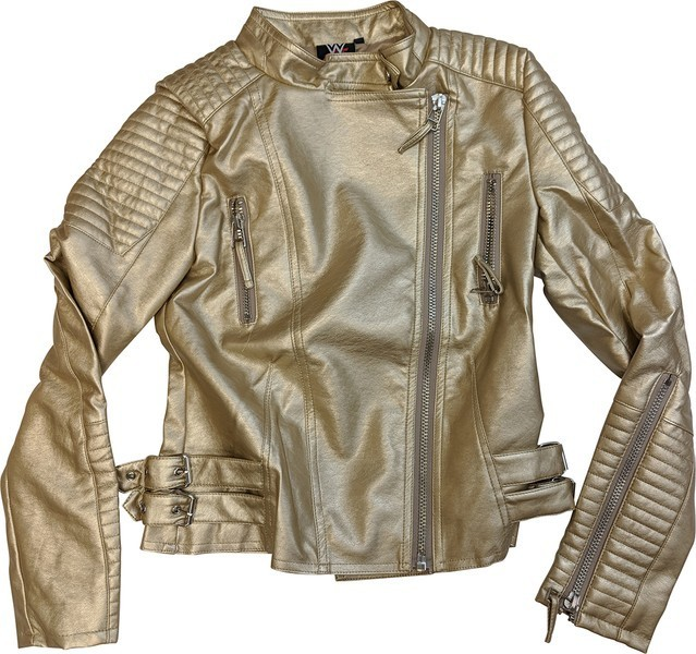 "Sasha Banks ""The Legit Boss"" Gold Authentic Jacket"