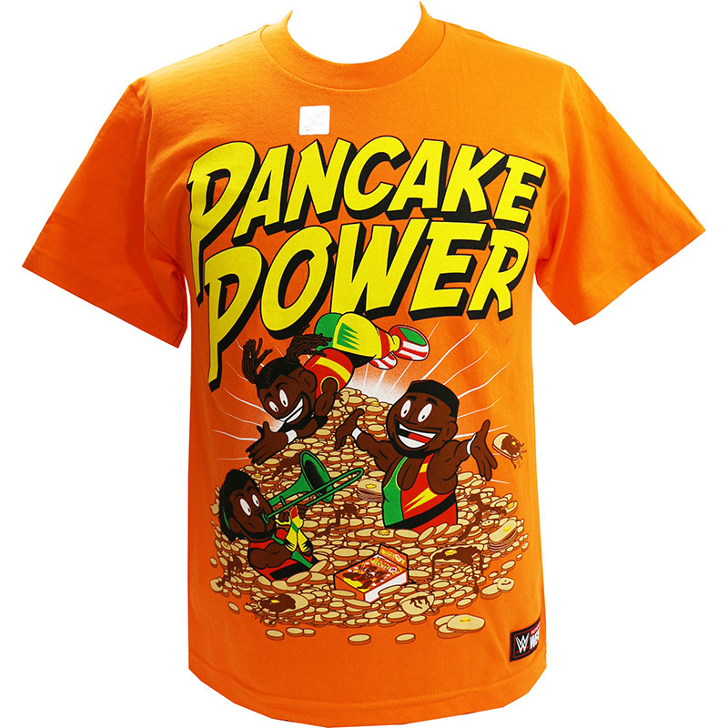 "The New Day ""Pancake Power"" Women's Authentic T-Shirt"