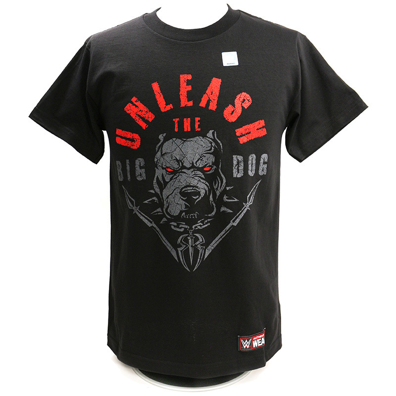 "Roman Reigns ""Unleash The Big Dog"" Kinder Authentic T-Shirt"