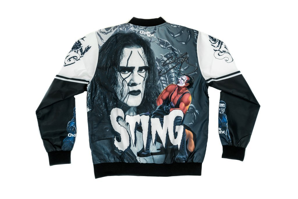 STING RETRO FANIMATION WWE JACKETO FANIMATION WWE JACKET