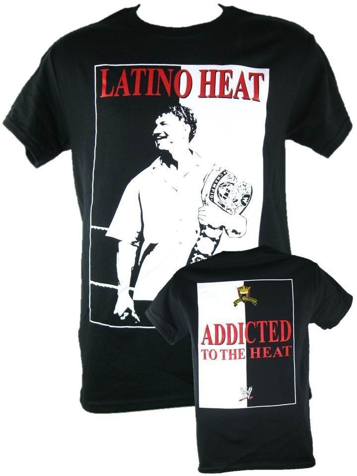 EDDIE GUERRERO ADDICTED TO THE HEAT CHAMPIONSHIP BELT T-Shirt