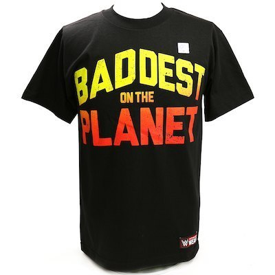 Ronda Rousey Baddest On The Planet Authentic T-Shirt