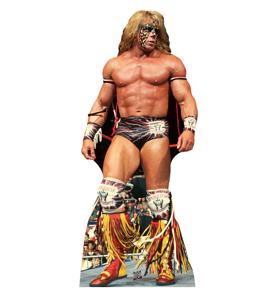Ultimate Warrior Pappaufsteller