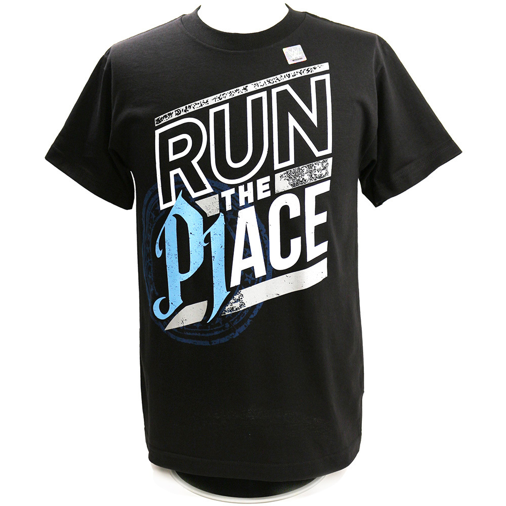 AJ Styles Run The Place Kinder Authentic T-Shirt